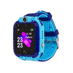 Дитячі розумні годинник AmiGo GO002 Swimming Camera WiFi Blue