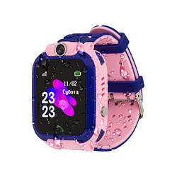 Дитячі розумні годинник AmiGo GO002 Swimming Camera WiFi Pink