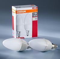 Набор ламп 2х1 LED STAR CLASSIC B40 6W 2700К E14 FR OSRAM