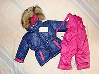Детские зимние термокомбинезоны для девочек