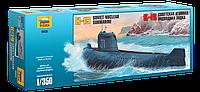 """Сборная модель (1:350) Подводная лодка """"К-19"""""""