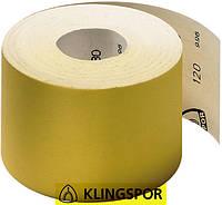 Бумага шлифовальная 120 зерно Klingspor PS 30 D (115 мм х 50 м)