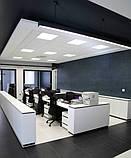 Светодиодные панели 40W Подвесные потолки 60x60, фото 7