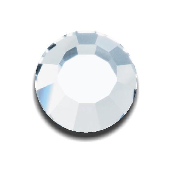 Белый кристальный | Crystal (Размер 6ss) [Размер в ассортименте] (144 шт. в упаковке)