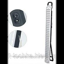 Аварийный светильник yajia yj-6826-90 90 led 2 режима с аккумулятором