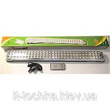 Аварийный светильник yajia yj-6826y 90 led с аккумулятором  2 режима + пульт