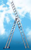 Аренда Лестница - трансформер 4-х секционная (шарнирная) 6,0 м Alumet Т 444.  Днепропетровск