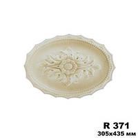 Розетка потолочная R371, размер 305х435мм, Gaudi Decor
