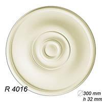 Розетка потолочная R4016, диаметр 300мм, Gaudi Decor