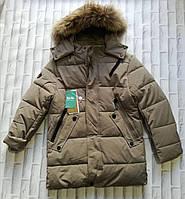 """Куртка подростковая зимняя с капюшоном на мальчика 134-158 см (2цв) """"Star Kids"""" недорого от прямого поставщика"""