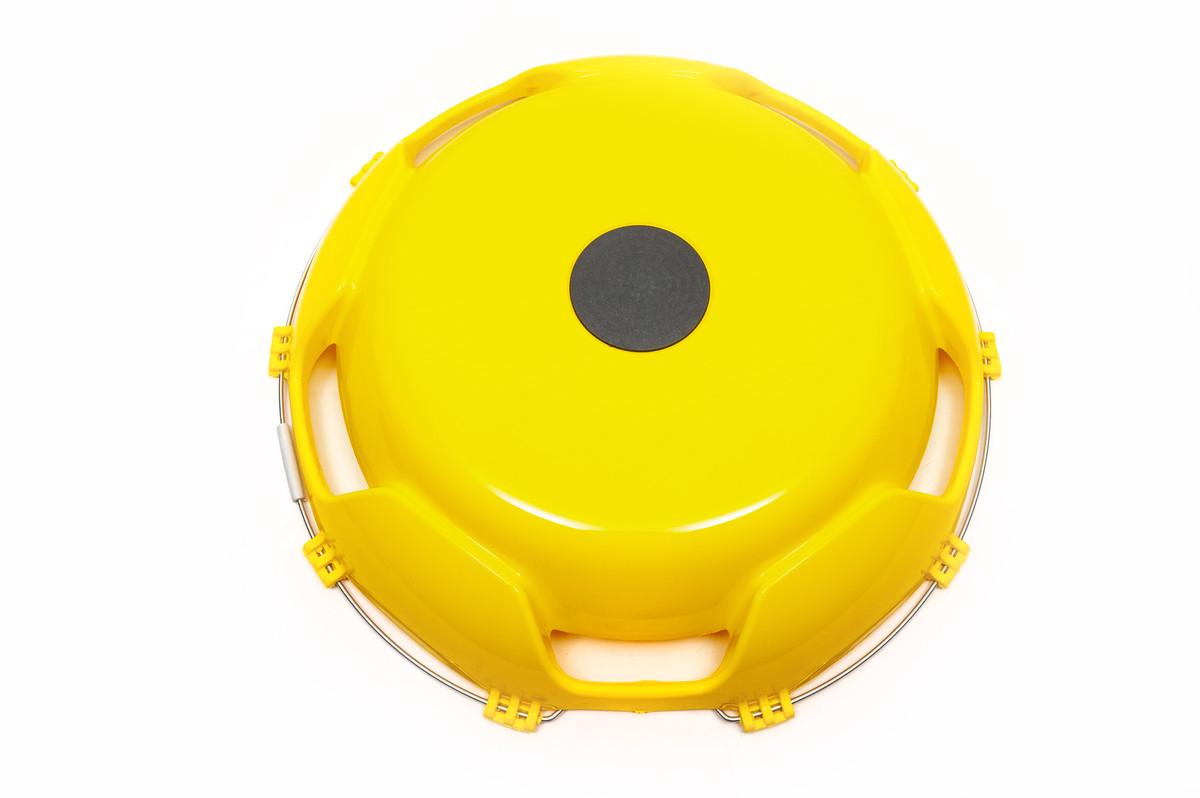 Колпак пластиковый 22,5 передний желтый