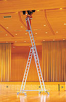 Аренда Лестница трехсекционная Krause Stabilo 3x14 ступеней. На сутки и более. Днепропетровск