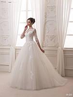 Очень красивое и женственное свадебное платье