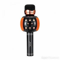Bluetooth-мікрофон для караоке WSTER M137 (WS-2911) (Помаранчевий)
