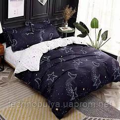 Постільна білизна Vanilla Home Сімейний Темно-синій