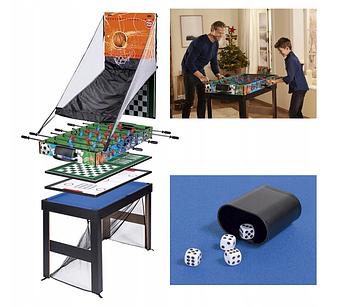 Настільна гра PlayTive 16 в 1 Для дітей від 5 років багатофункціональний ігровий стіл