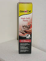 Gimpet Malt-Soft паста для выведения шерсти,200г