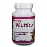 Dolfos Multical - витаминно-минеральный комплекс 90 таб Дольфос Мультикаль (125-90)