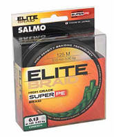 Леска плет. Salmo Elite BRAID Green 125/011