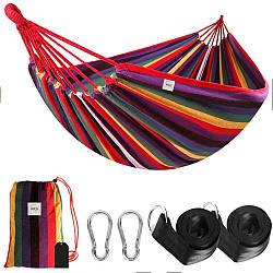 Двухместный гамак Mexico XXL Разноцветный 200х150 WCG