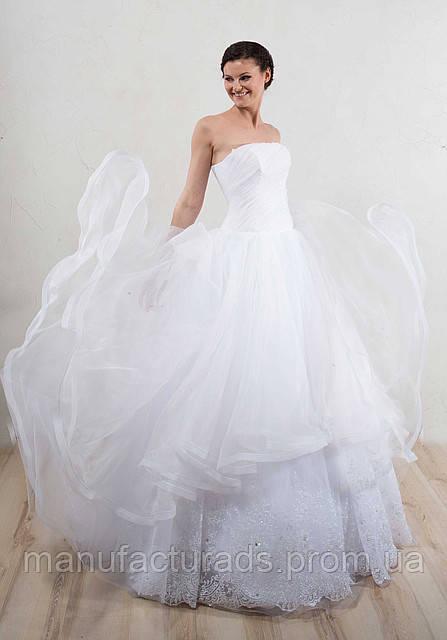 NEW !!! Волшебное свадебное платье №5954