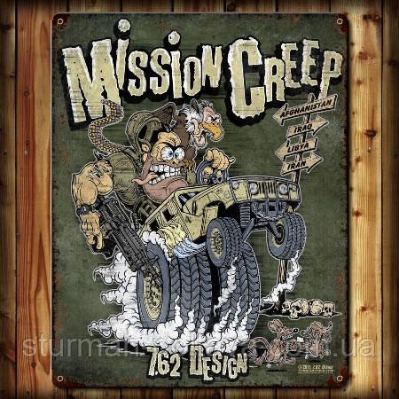 Футболка 7.62 Design 'Mission Creep'