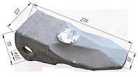 Коронка экскаваторная 207-70-14151RE (RABA)