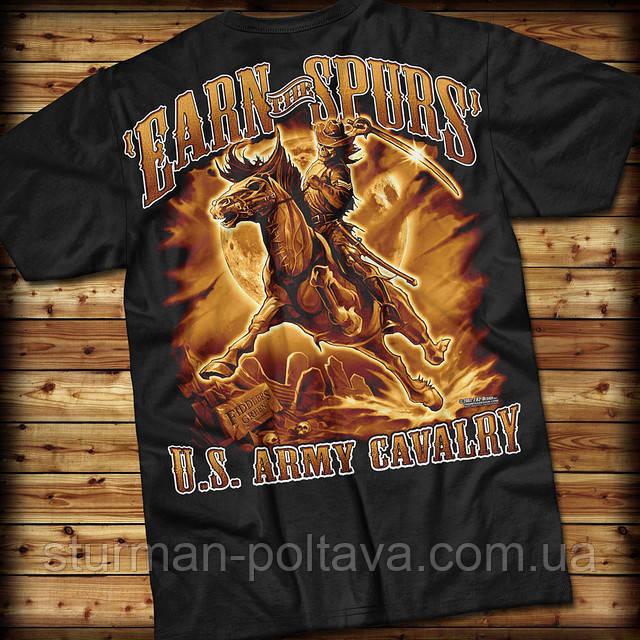 Футболка 7.62 Design ARMY Cavalry 'Earn The Spurs' (black)