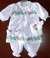 Крестильный набор крестильный для девочки Крестильное платье