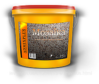 Штукатурка декоративно-мозаичная ADMIXPLUS (ведро 25 кг Киев, Украина)