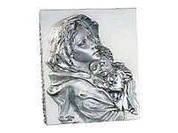 """Икона с посеребрением """" Мадонна с детьми """" от Linea Argenti"""
