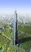 Грандиозный проект из поднебесной – небоскреб высотой 838 м.