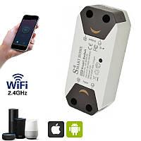 Wifi реле для умного дома Smart Breaker SS-8839-02, умный вай фай выключатель, смарт выключатель (NS)
