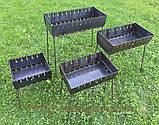 Мангал складной (чемодан) на 10 шампуров, фото 2