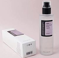 Осветляющая эссенция с АНА кислотами 7% для проблемной сухой угревой кожи COSRX AHA 7 Whitehead Power Liquid