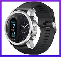 Смарт Часы Smart Watch Max Robotics Hybrid Sporttech ZX-01 SILVER / СЕРЕБРО Гибрид Механика и электроника