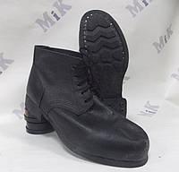 Ботинки гвоздевые рабочие, кирза+юфть