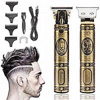 Аккумуляторная машинка для стрижки триммер для стрижки волос бороды усов VGR V-085