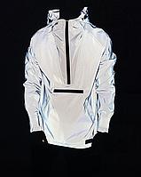 Анорак Рефлектив Шадоу Стильная светоотражающа курточка весна-осень анорак олимпийка светоотражающая ветровка