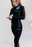 Женский комплект Термобелья Columbia тёплое зимнее термобельё для девушки чёрного цвета Теплое Женское Термо