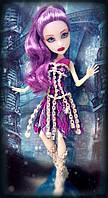Кукла Monster High Getting Ghostly Spectra Vondergeist  Спектра Вондергейст Призрачные