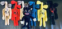 Сиреноголовые Оригінал Набір з 7 м'яких іграшок сиреноголовых і Картун Кет