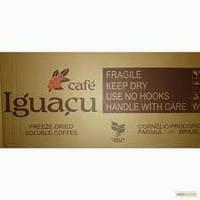 Кофе растворимый Iguacu Игуация бразилия, Кофе весовой оптом Игуацу, Кофе на развес.