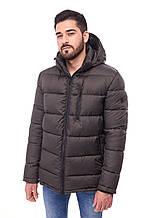 Чоловіча зимова куртка пуховик 068, хакі