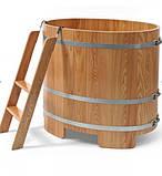 Бочка-Купель для сауны и бани Blumenberg 100 x 72, фото 3