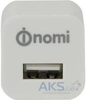 Зарядное устройство Nomi Сетевое Зарядное Устройство 1А Белое (HC05101)