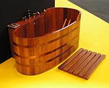 Бочка-Купель для сауны и бани Blumenberg диаметр 153 см, фото 4