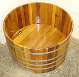 Бочка-Купель для сауны и бани Blumenberg 100 x 72, фото 5