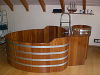 Бочка-Купель для сауны и бани Blumenberg 122 x 72