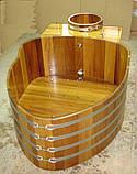 Бочка-Купель для сауны и бани Blumenberg диаметр 153 см, фото 3
